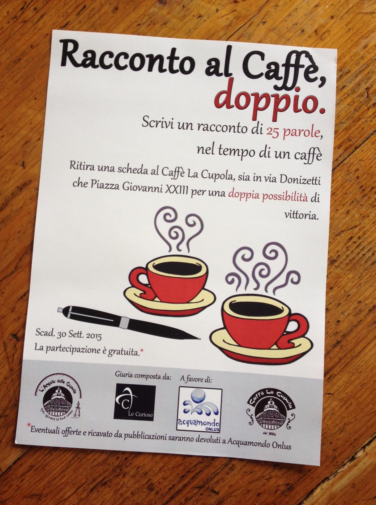 Goede Racconto al Caffè Doppio | Caffè La Cupola RE-59