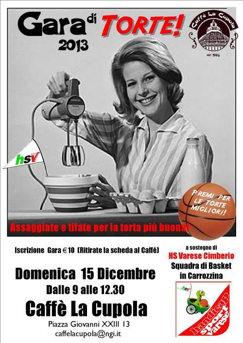 gara torte poster 2013